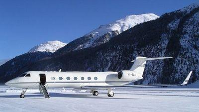 How the super-rich jet to the slopes