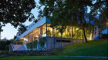 Fantasy homes: a modernist mansion forged of steel and glass