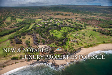 New & Notable Luxury Properties for Sale