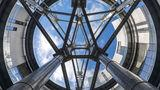 Gasholder apartments recall London's industrial past