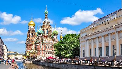 Five reasons to live in St Petersburg, Russia