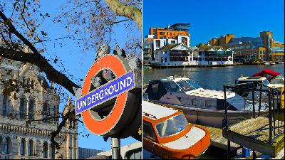Centre versus suburb: South Kensington and Kingston upon Thames