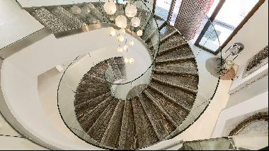 Five of the world's best homes for sale with stunning staircases