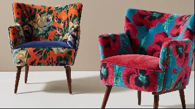Fast-track to spring with floral furnishings