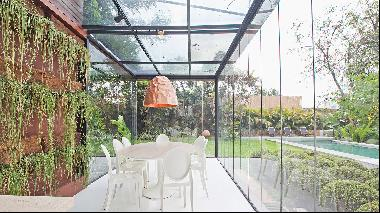 Five of the world's best homes for sale with indoor gardens for rainy days