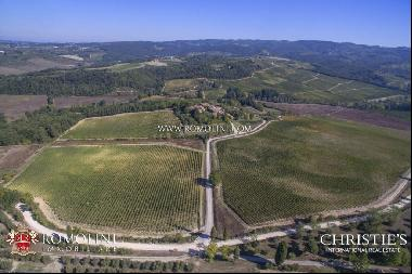 Chianti Classico - WINE ESTATE WITH 45.6 HECTARES OF VINEYARDS FOR SALE IN TUSCANY