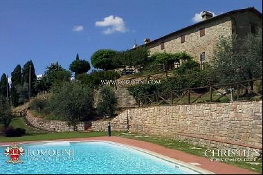 Tuscany - ITALIAN PROPERTY WITH PANORAMIC VIEW FOR SALE IN TUSCANY, VALDARNO