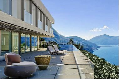 6.5-room apartment for sale with great Lake Lugano view