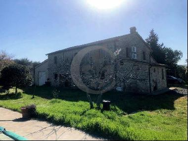 Ref. 5354 Renovated Stone Farmhouse with Pool in Cinigiano, Maremma, Tuscany