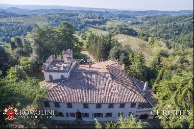 Chianti - RENOVATION PROJECT - HISTORIC WINE ESTATE WITH VILLA AND VINEYARDS IN FLORENCE