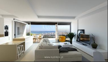 New penthouse for sale, pool and sea views, Lagos, Algarve, Portugal