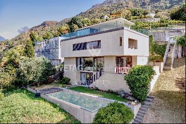 Contemporary villa for sale in Bellinzona with stunning panoramic views