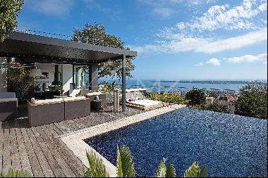 Cannes - Villa with panoramic sea view