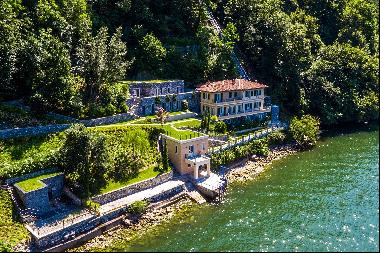 Fascinating villa in one of the most strategic areas of the lake