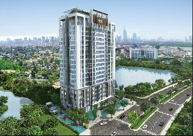 Ascent Lakeside, 2BR Apartment With Japanese Standard In D7, The Most Foreigner- Dominate