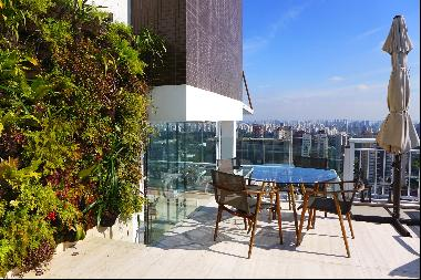 Duplex penthouse with amazing urban view