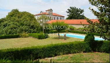 Country house with garden, lake and swimming pool, Penafiel, Portugal