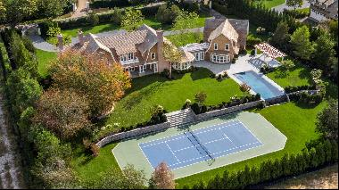 This magnificent approximately 11,000 square-foot Estate was designed by renowned Hamptons
