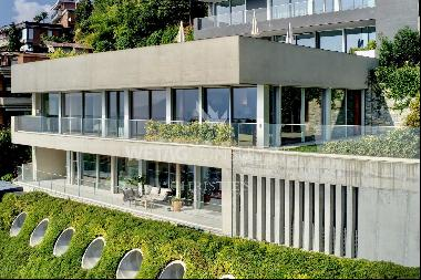 Exclusive apartment for sale in Ruvigliana cocooned with scenic lake views