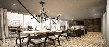 Exceptional duplex penthouse apartment in the heart of Crans Montana