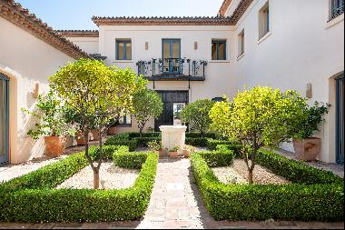 Andalusian-style house in Marbella Club Golf Resort