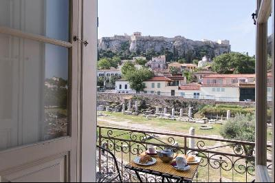 Historic Athenian Residence with view