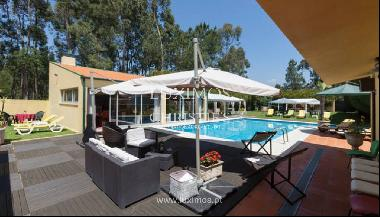 Sale of villa with pool and large garden, Espinho, Portugal