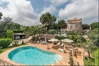Super Cannes - Charming villa with panoramic sea view