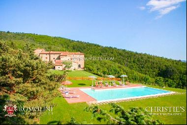 Tuscany - AGRITURISMO WITH WELLNESS CENTER FOR SALE IN AREZZO