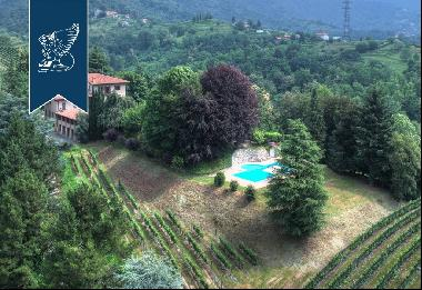 Luxury estate with agricultural company at a stone's throw from Bergamo historical town ce
