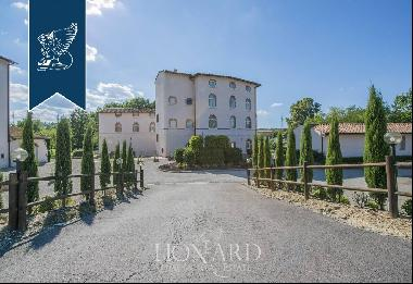 Old mill converted into an hotel in the heart of the Chianti area