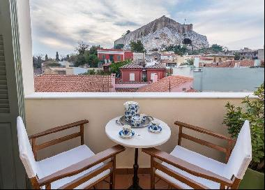 Unique Maisonette with Acropolis View