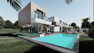 Vilamoura - Luxurious 4-Bedroom Villas under construction, with private pools