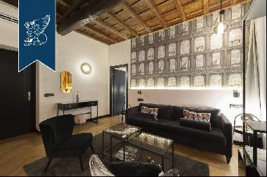 Wonderful apartment for sale at a stone's throw from the Spanish Steps in Rome
