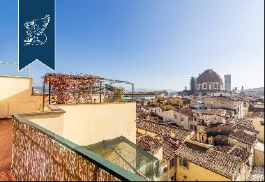 Luxury penthouse with a breathtaking view of Florence's city centre