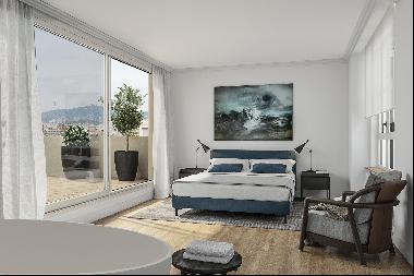 Elegant and bright brand new apartment on Right side of Eixample