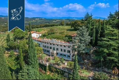 Exclusive historical estate on the stunning hills overlooking Verona, with a spectacular p