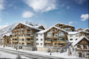 A brand new development of 55 apartments in one of Alpe d'Huez's most charming locations,