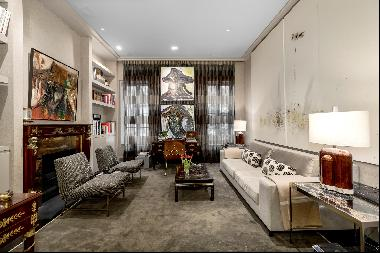 Gorgeous 4-story Lenox Hill townhouse, blending classic prewar details and elegance with t