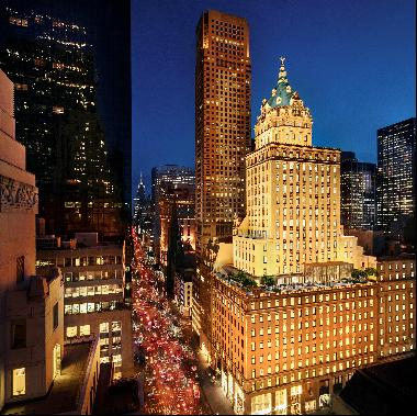 Exclusive residences within the Aman New York.