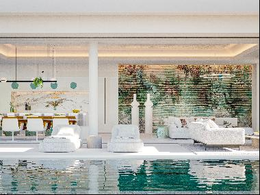 Spectacularly designed villa with panoramic views