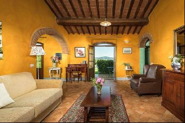Ref. 2256-2 Farmhouse apartment with private pool, Montalcino, Tuscany
