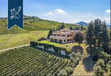 Estate of great charm for sale with a panoramic view of the wonderfu hills of the Oltrepò