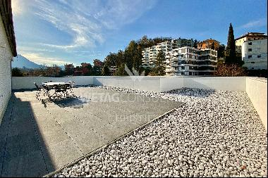 Lugano: penthouse apartment with large terrace for sale