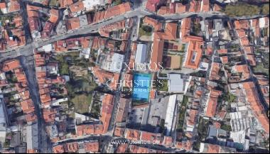 Land with approved project, for sale, in the center of Porto, Portugal
