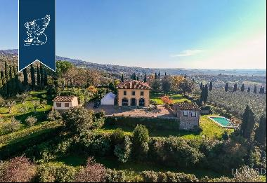 Luxury villa surrounded by an olive grove for sale in Vinci