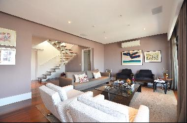 Renovated duplex penthouse with a view