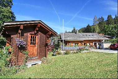 Authenticity and charm for this chalet in the heart of Villars!