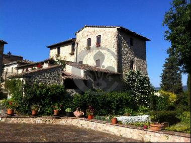 Ref. 5362 Luxurious farmhouse in Chinti - San Gimignano