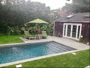 RENOVATED VILLAGE HOME WITH POOL